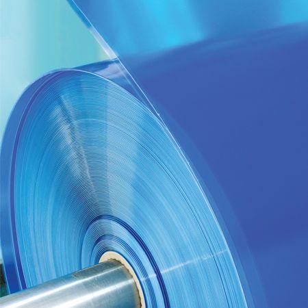 PVC super clear sheet plaid
